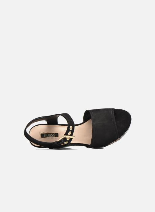 Caralin2 pieds Guess Sandales Et Black Nu dCeWroxEQB