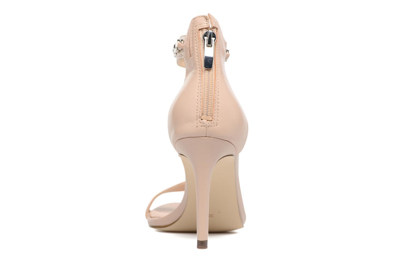Sandali e scarpe aperte Guess Charlet Beige immagine destra