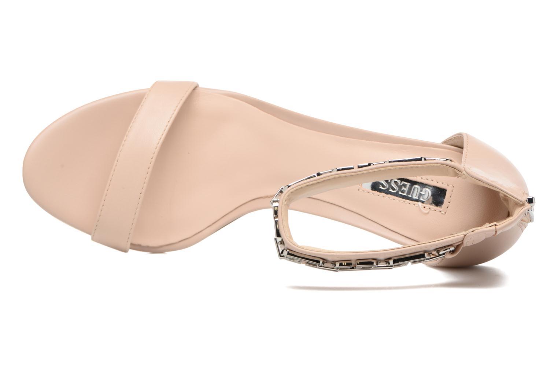 Sandali e scarpe aperte Guess Charlet Beige immagine sinistra
