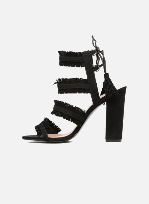 Sandals Guess Econi Black front view