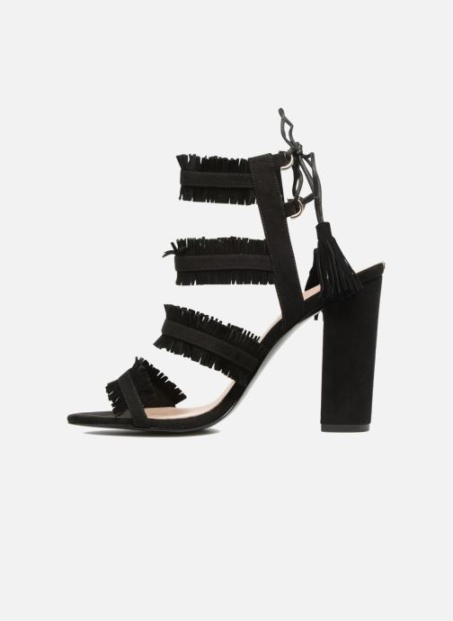 Sandales et nu-pieds Guess Econi Noir vue face