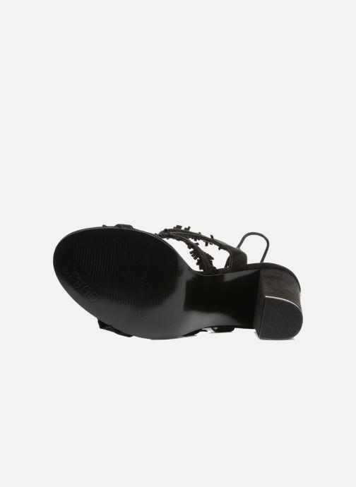 Sandales et nu-pieds Guess Econi Noir vue haut