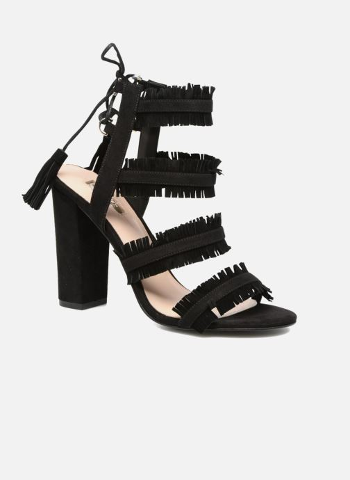 Sandals Guess Econi Black detailed view/ Pair view