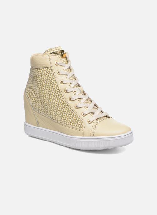 Sneakers Guess Furia Goud en brons detail