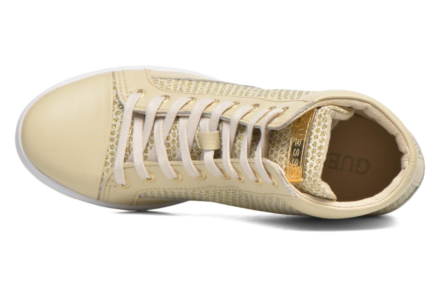 Sneakers Guess Furia Goud en brons links