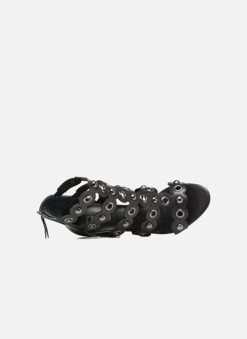 Sandales et nu-pieds Guess Gariza2 Noir vue gauche