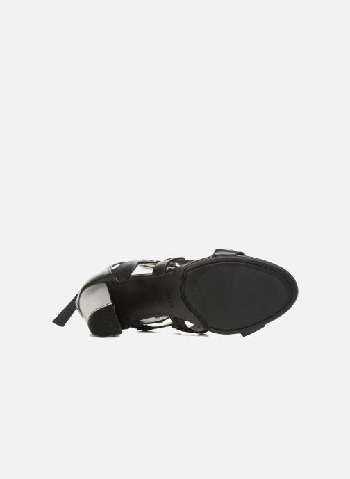 Sandales et nu-pieds Guess Gariza2 Noir vue haut