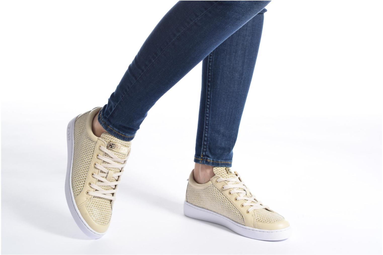 Sneakers Guess Glinna 2 Guld og bronze se forneden