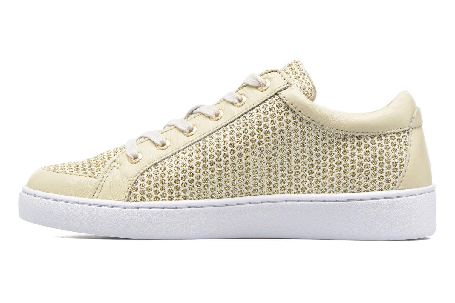 Trainers Guess Glinna 2 Bronze and Gold front view