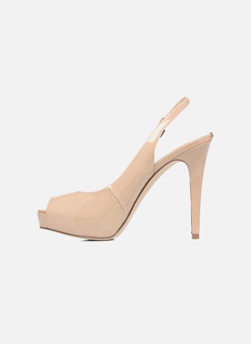 Zapatos de tacón Guess Huele Beige vista de frente