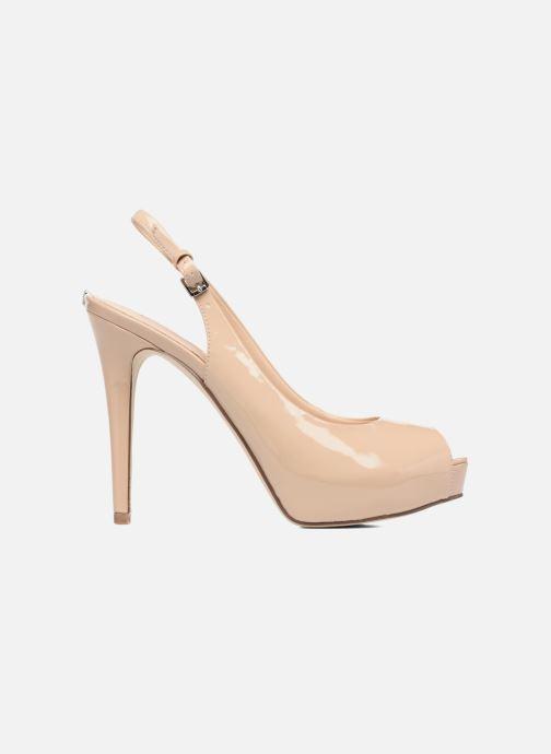 Zapatos de tacón Guess Huele Beige vistra trasera