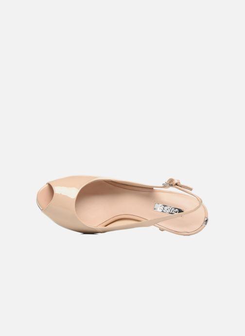 Zapatos de tacón Guess Huele Beige vista lateral izquierda