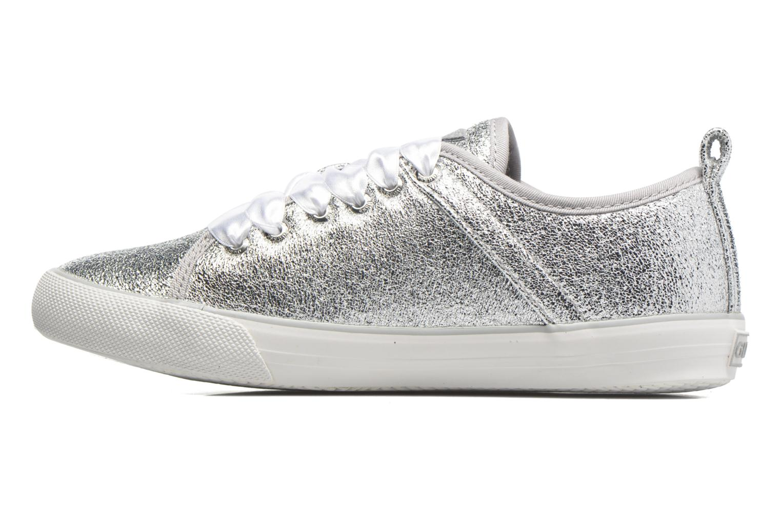 Trainers Guess Jolie Silver front view