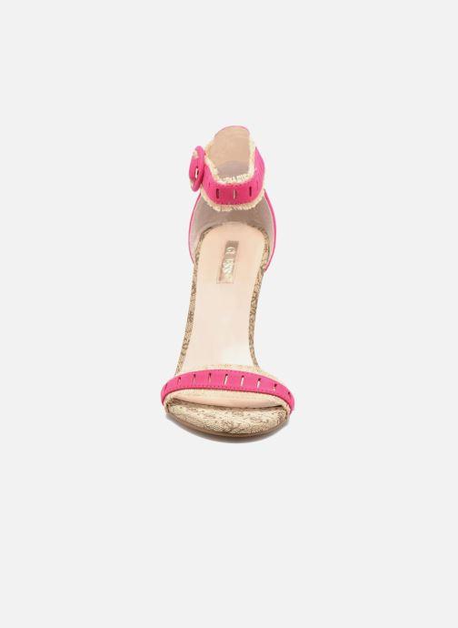 Sandales et nu-pieds Guess Petra Rose vue portées chaussures