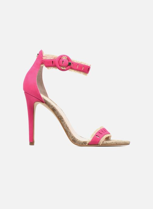 Sandals Guess Petra Pink back view