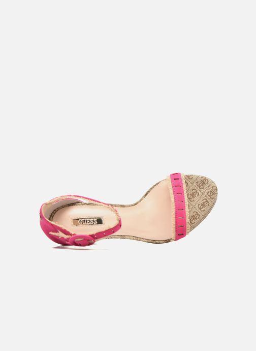 Sandales et nu-pieds Guess Petra Rose vue gauche