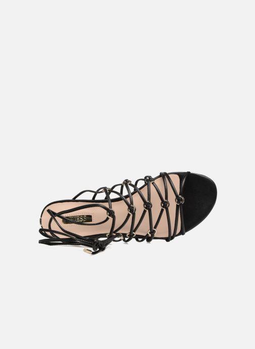 Sandalen Guess Racha schwarz ansicht von links