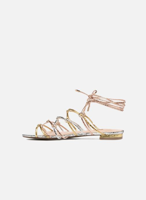 Sandals Guess Racha Silver front view