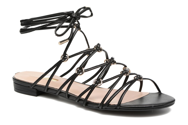 Sandals Guess Racha Black detailed view/ Pair view
