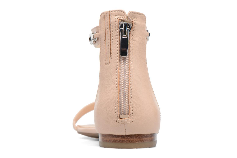 Sandali e scarpe aperte Guess Rafina Beige immagine destra