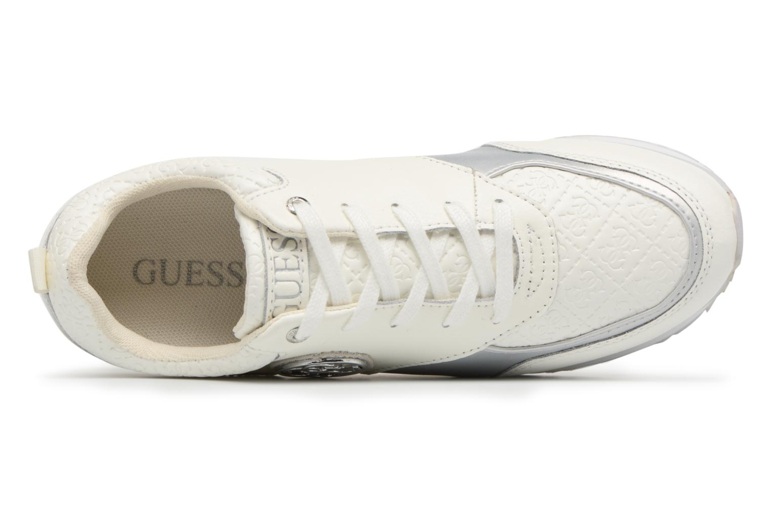 Sneakers Guess Rimma Bianco immagine sinistra