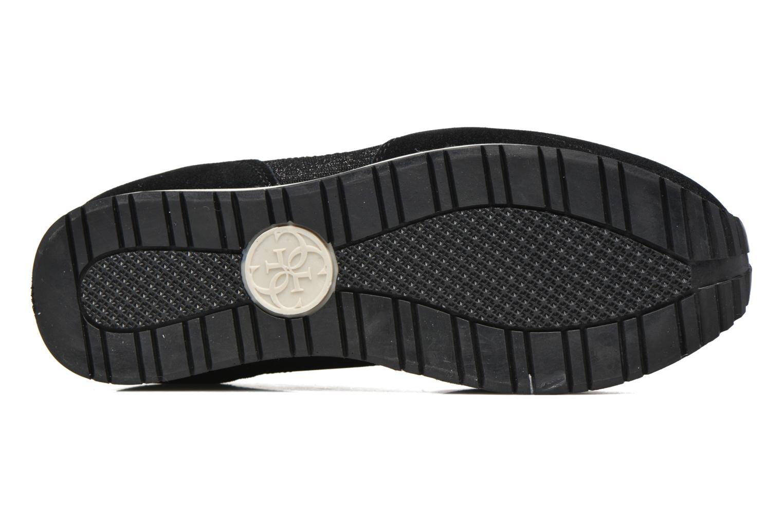 Baskets Guess Sunny Noir vue haut