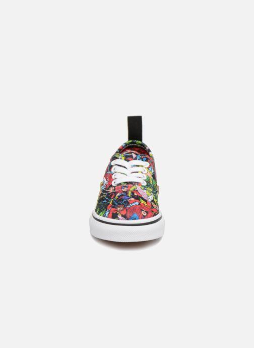 Baskets Vans Authentic Elastic Lace BB Multicolore vue portées chaussures