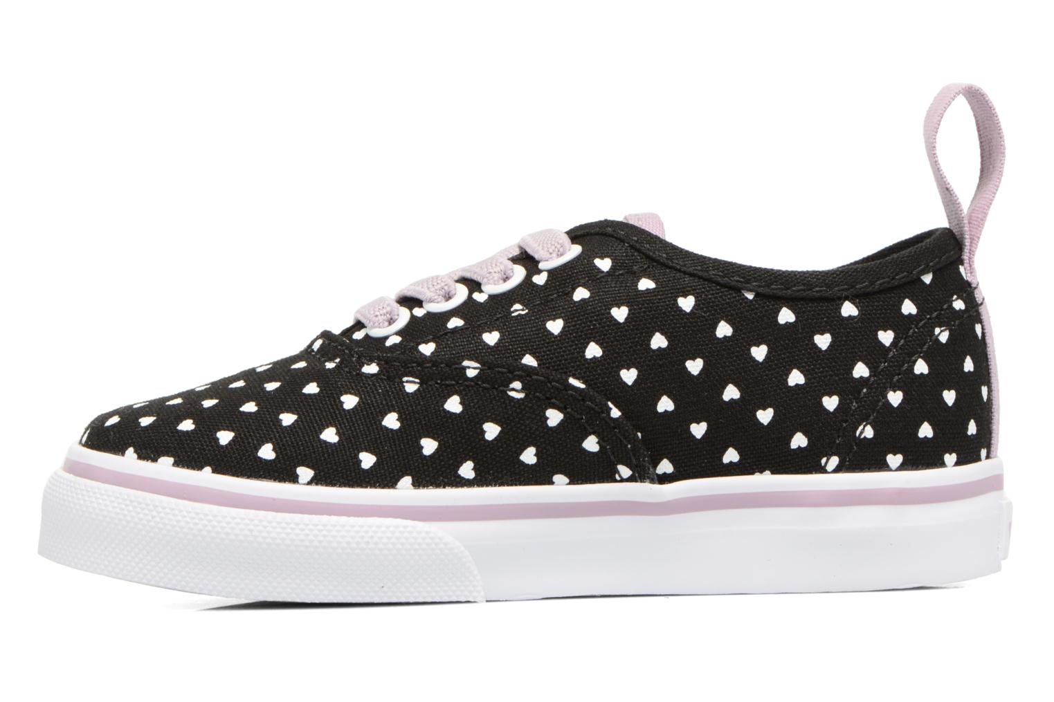 Deportivas Vans Authentic Elastic Lace BB Negro vista de frente