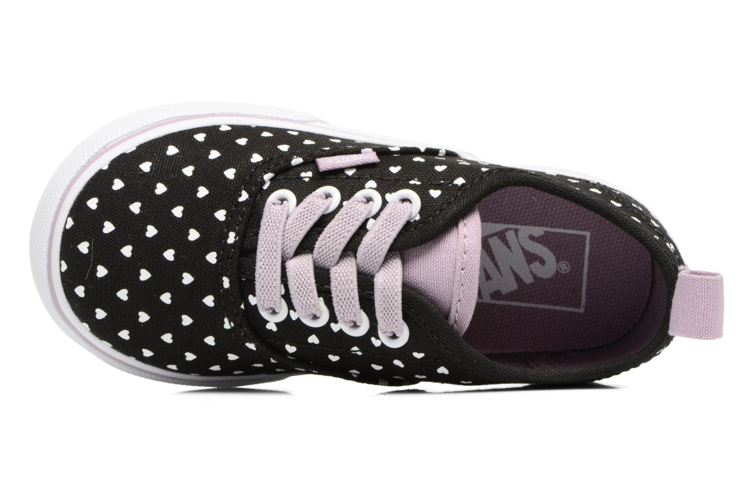 Sneakers Vans Authentic Elastic Lace BB Sort se fra venstre