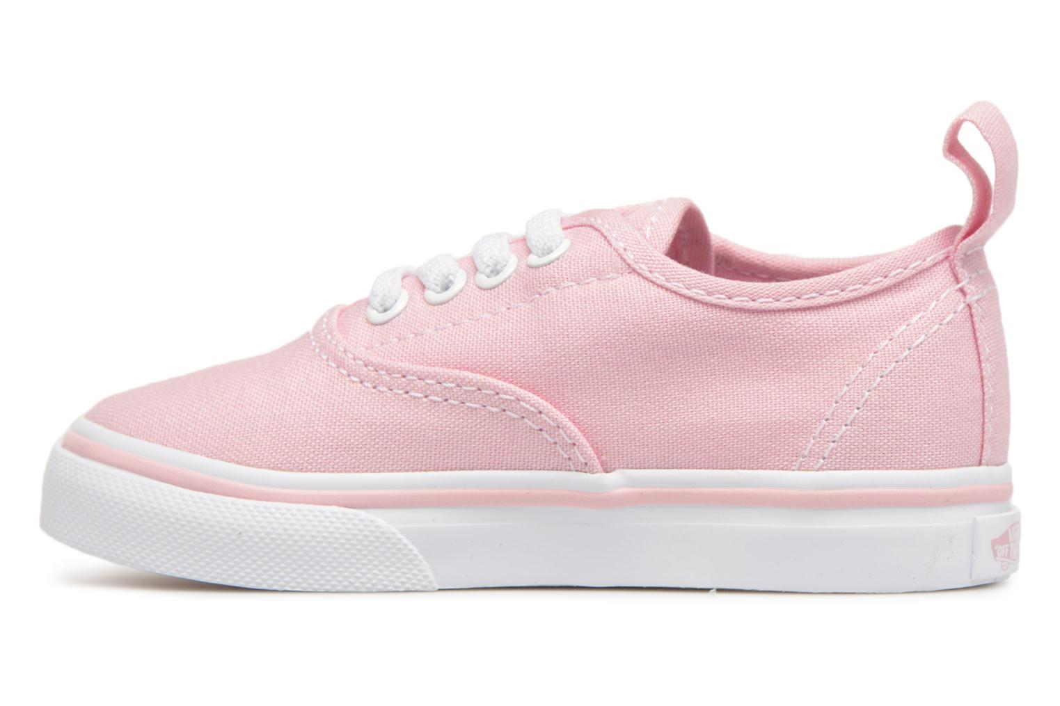 Trainers Vans Authentic Elastic Lace BB Pink front view
