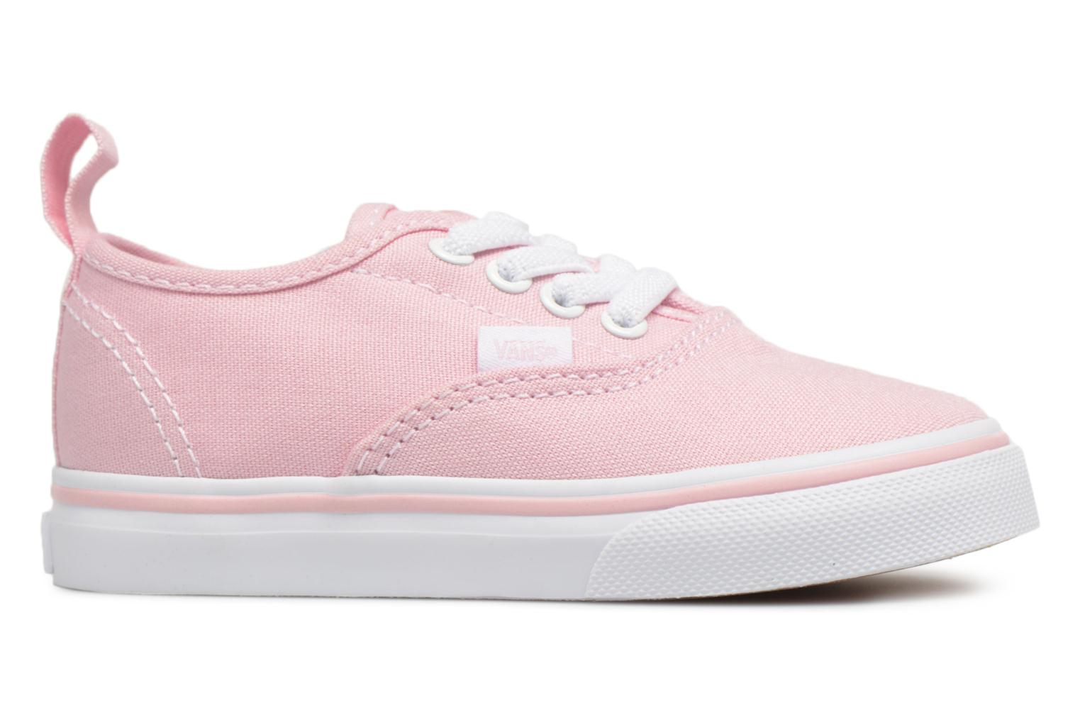 Trainers Vans Authentic Elastic Lace BB Pink view from the right