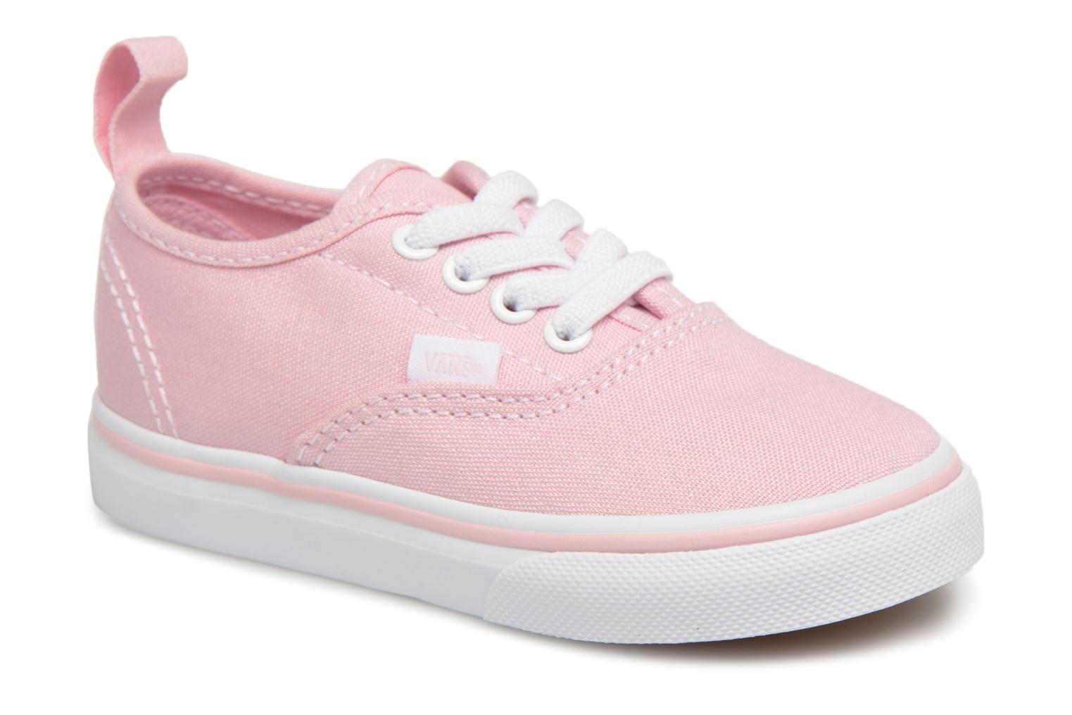 Trainers Vans Authentic Elastic Lace BB Pink detailed view/ Pair view