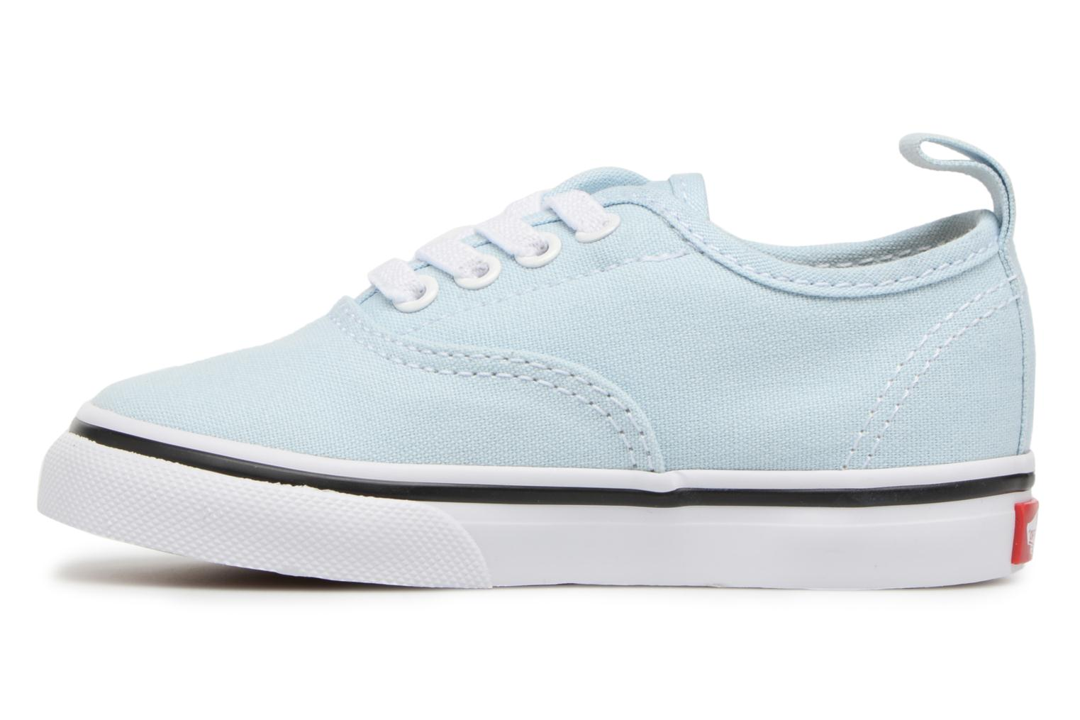 Deportivas Vans Authentic Elastic Lace BB Azul vista de frente