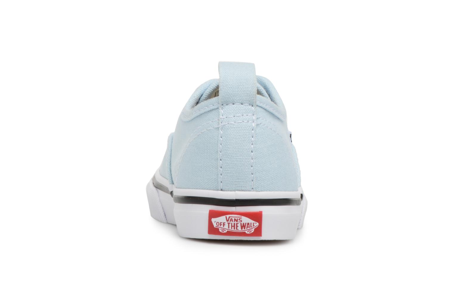 Deportivas Vans Authentic Elastic Lace BB Azul vista lateral derecha