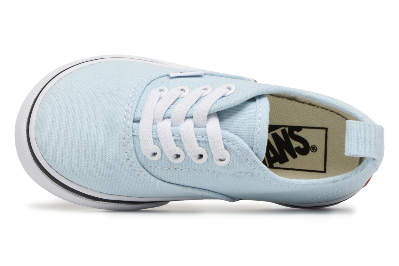 Sneaker Vans Authentic Elastic Lace BB blau ansicht von links