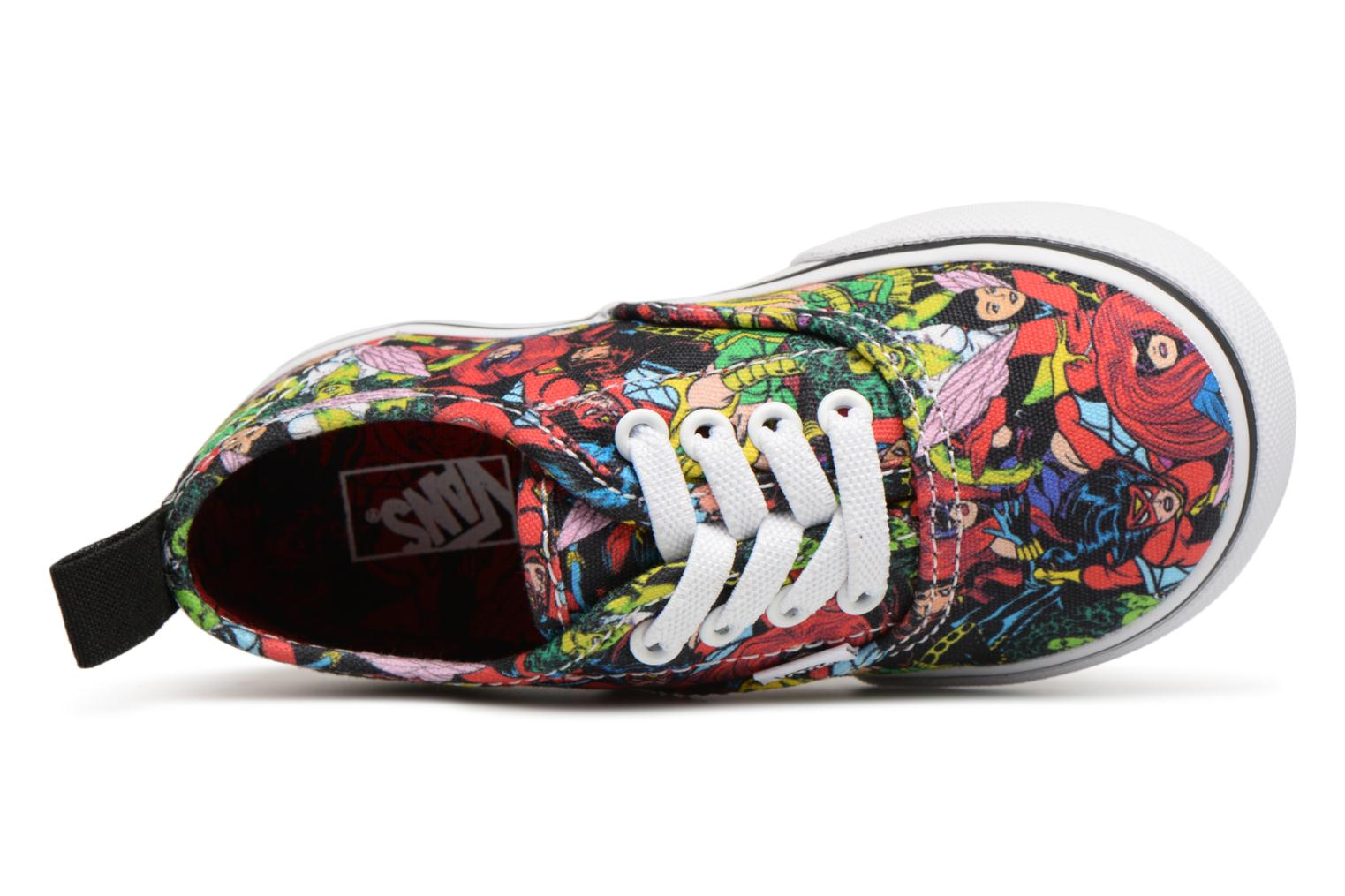 Baskets Vans Authentic Elastic Lace BB Multicolore vue gauche