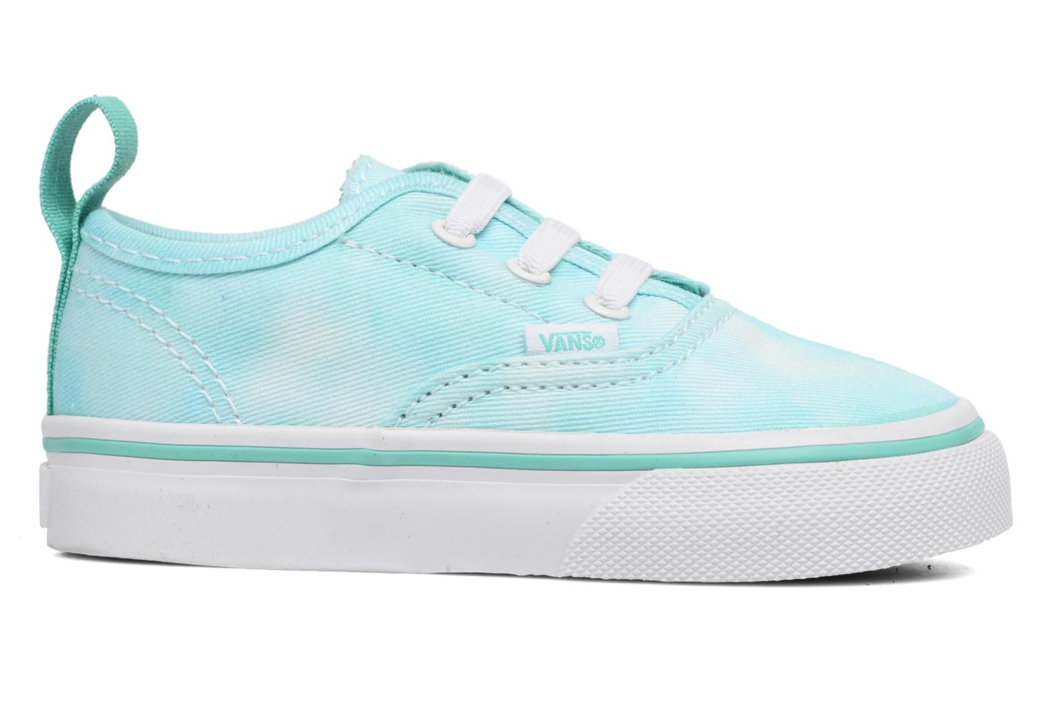 Baskets Vans Authentic V Lace BB Bleu vue derrière