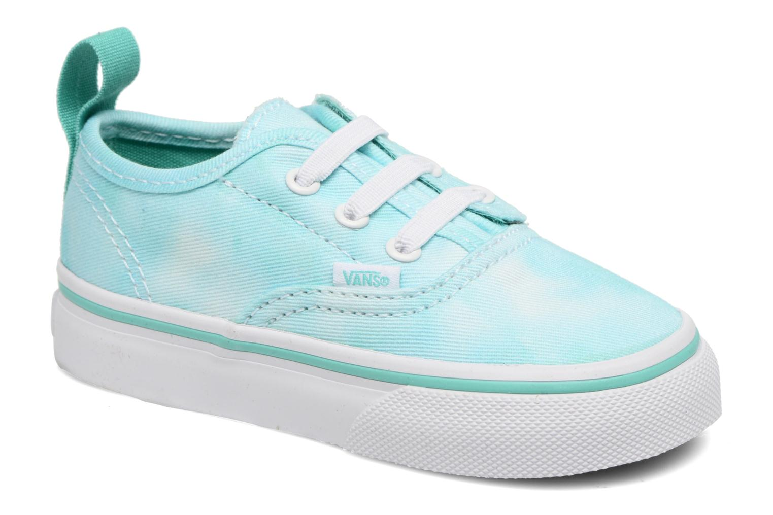 Baskets Vans Authentic V Lace BB Bleu vue détail/paire