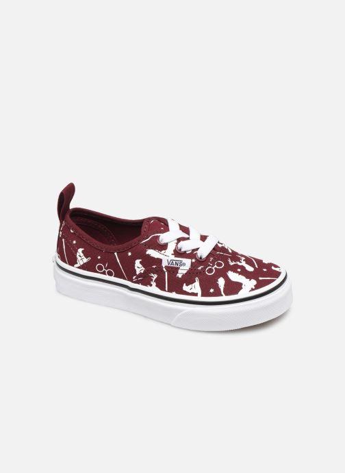 Sneakers Vans Authentic Elastic Lace Bordeaux detail