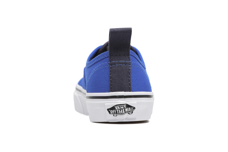 Sneaker Vans Authentic Elastic Lace blau ansicht von rechts