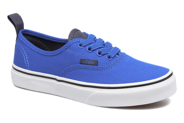 Sneaker Vans Authentic Elastic Lace blau detaillierte ansicht/modell