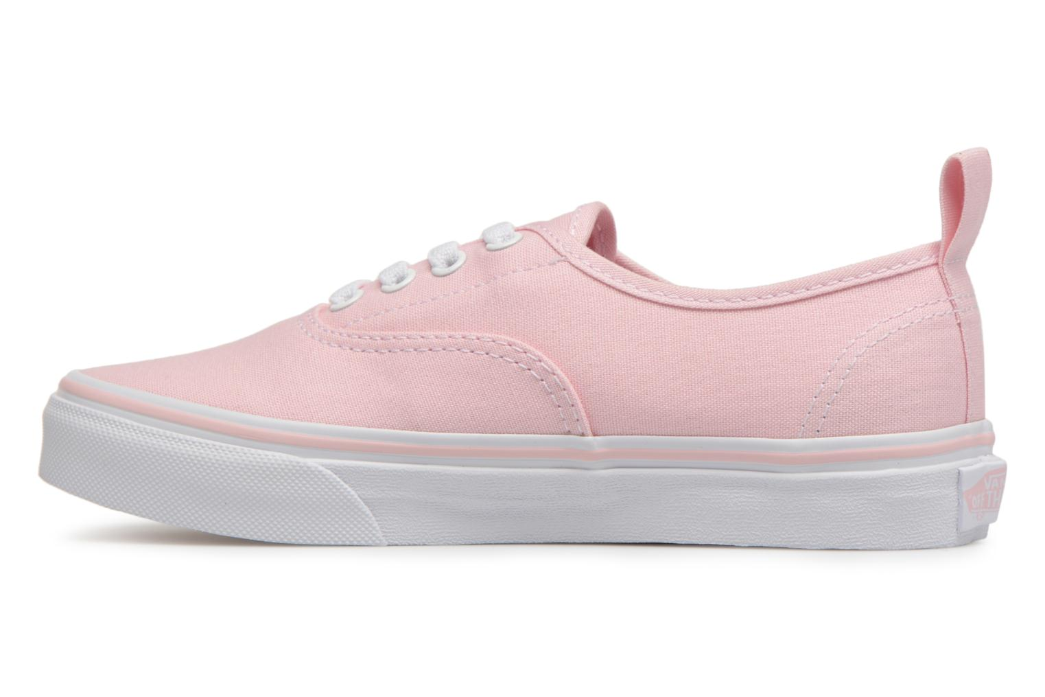 Sneakers Vans Authentic Elastic Lace Roze voorkant