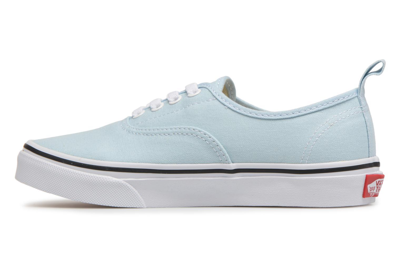 Sneaker Vans Authentic Elastic Lace blau ansicht von vorne