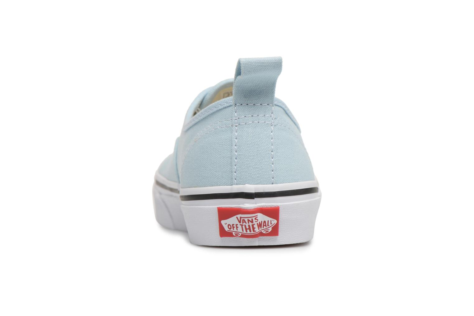 Trainers Vans Authentic Elastic Lace Blue view from the right