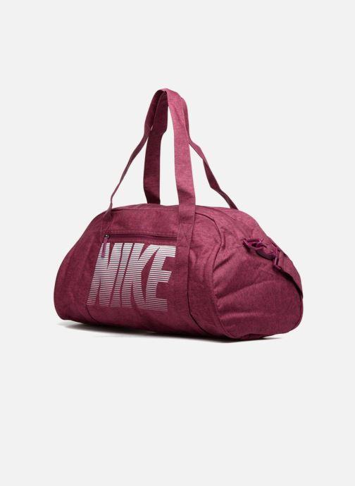 f692b50f07 Sacs de sport Nike Women's Nike Gym Club Training Duffel Bag Rose vue  portées chaussures