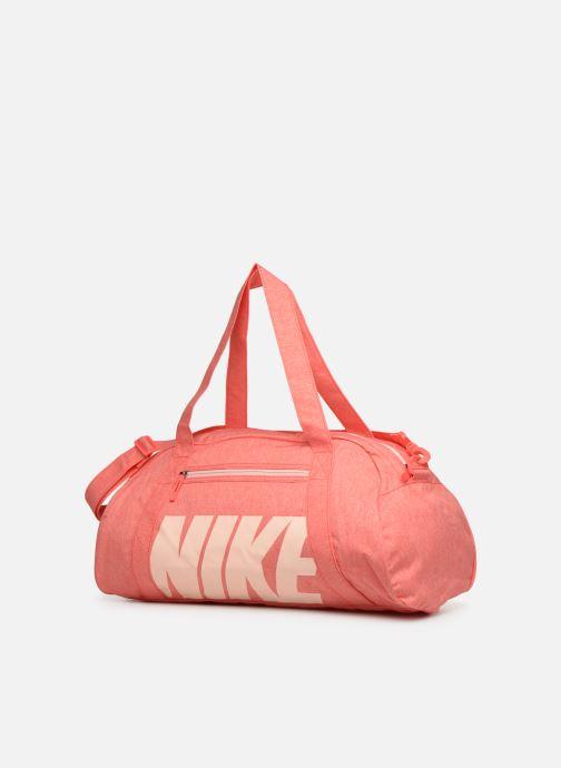 Sporttaschen Nike Women's Nike Gym Club Training Duffel Bag rosa schuhe getragen