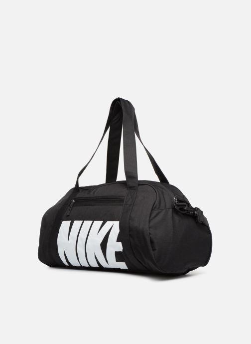 Bolsas de deporte Nike Women's Nike Gym Club Training Duffel Bag Negro vista del modelo