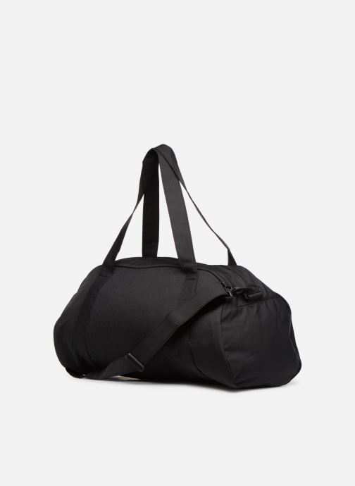 Bolsas de deporte Nike Women's Nike Gym Club Training Duffel Bag Negro vista lateral derecha