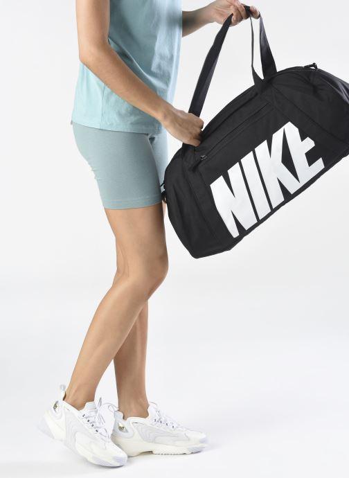 Bolsas de deporte Nike Women's Nike Gym Club Training Duffel Bag Negro vista de abajo