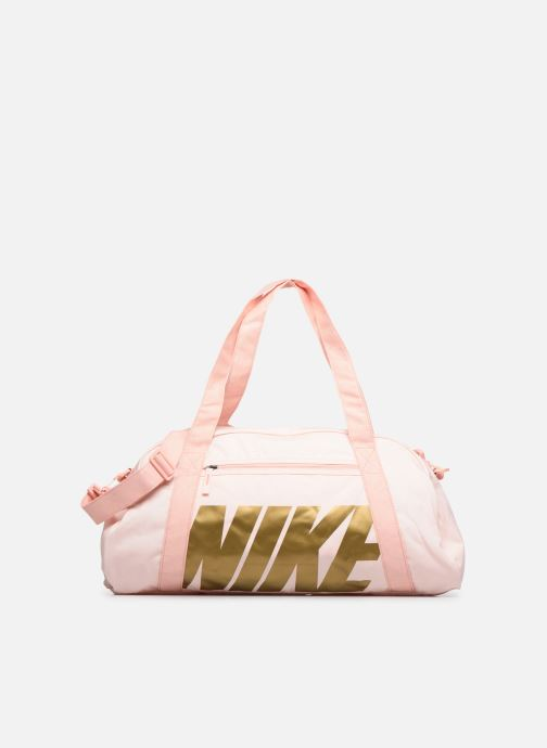 Bolsas de deporte Nike Women's Nike Gym Club Training Duffel Bag Rosa vista de detalle / par